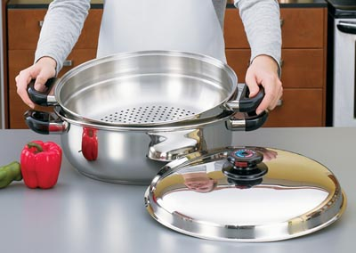 How to Cook with Waterless Skillets