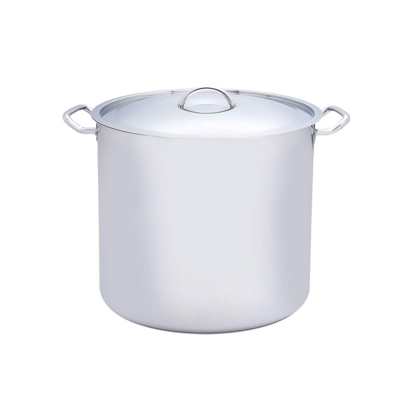 Precise Heat 65qt Extra Large Commercial Stock Pot 12