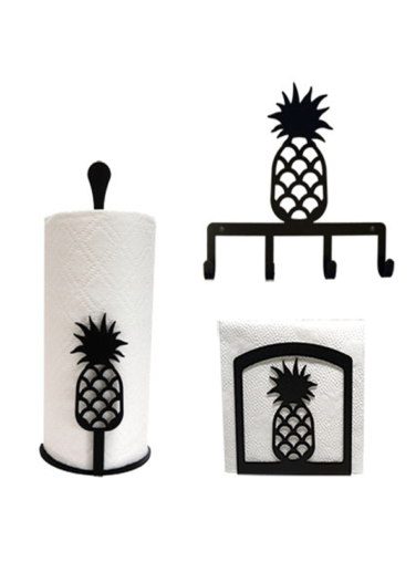 Pineapple Kitchen Decor Combo Set