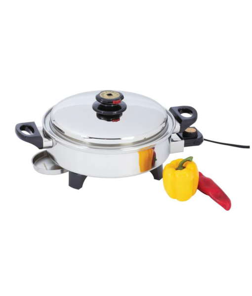 Oil Core Electric Skillet