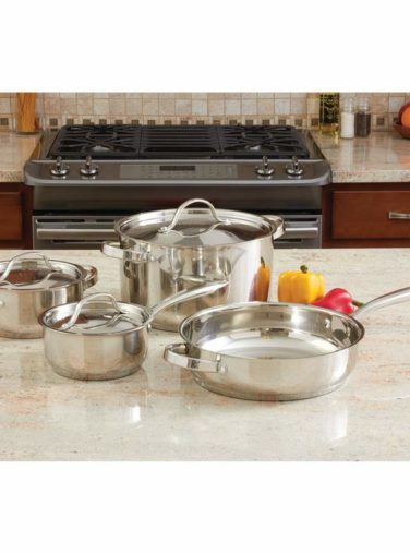 Ever Clad 7pc Cookware Set